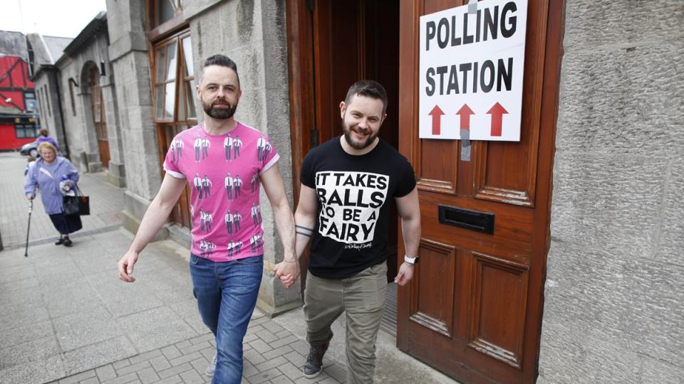 Same sex marriage ireland