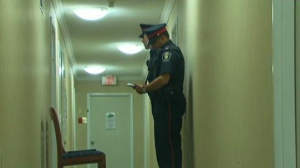 York Regional Police's homicide unit is investigating after an elderly woman was found dead at a Richmond Hill apartment building.