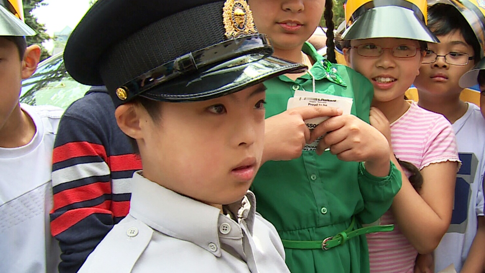 Michael Cui was named honorary chief of police in Richmond, BC.