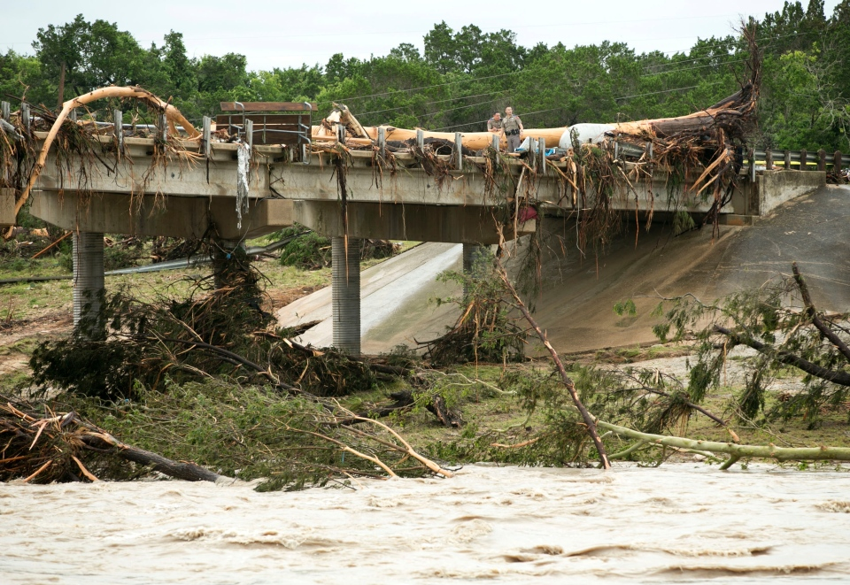 ... after heavy rain causes flooding, evacuations in Texas and Oklahoma