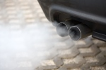 Emissions from a car's tailpipe is shown in this undated stock image. (Stefan Redel / Shutterstock.com)