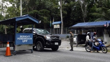 Malaysian border checkpoint