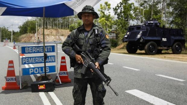 Malaysia-Thailand border crossing