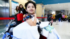 Patient arrives at Montreal's new hospital