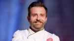 David Jorge, a concrete contractor from Surrey, B.C., won the MasterChef Canada trophy and $100,000 prize. (CTV)