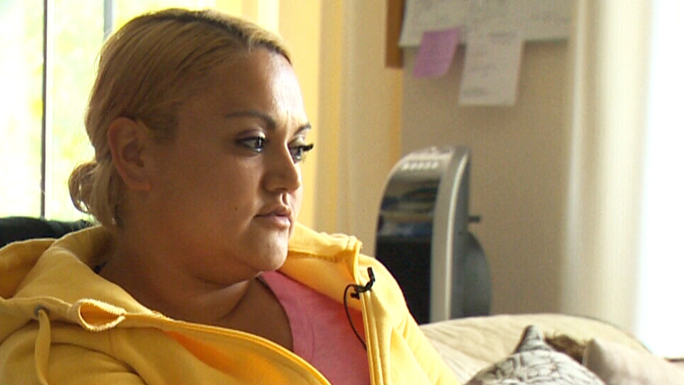 Rebeca Flores, from Saanich, B.C., is speaking out after she says she tried to get employment insurance and was told to call the welfare office instead.