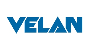 The corporate logo for industrial valve manufacturer Velan Inc. is shown in this handout photo.