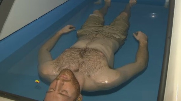 A new floatation centre in Halifax is offering clients a way to relax the mind and body through the use of salt water.