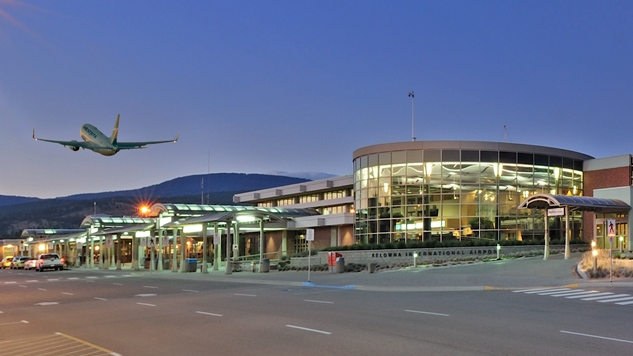 A Nov. 28 WestJet flight from Calgary to Kelowna International Airport, as seen here, has been added to the list of possible COVID-19 exposures.