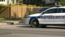 Regina police investigate the death of a 22-year-old man whose body was found in the 900 block of Athol Street on Monday, May 25, 2015.