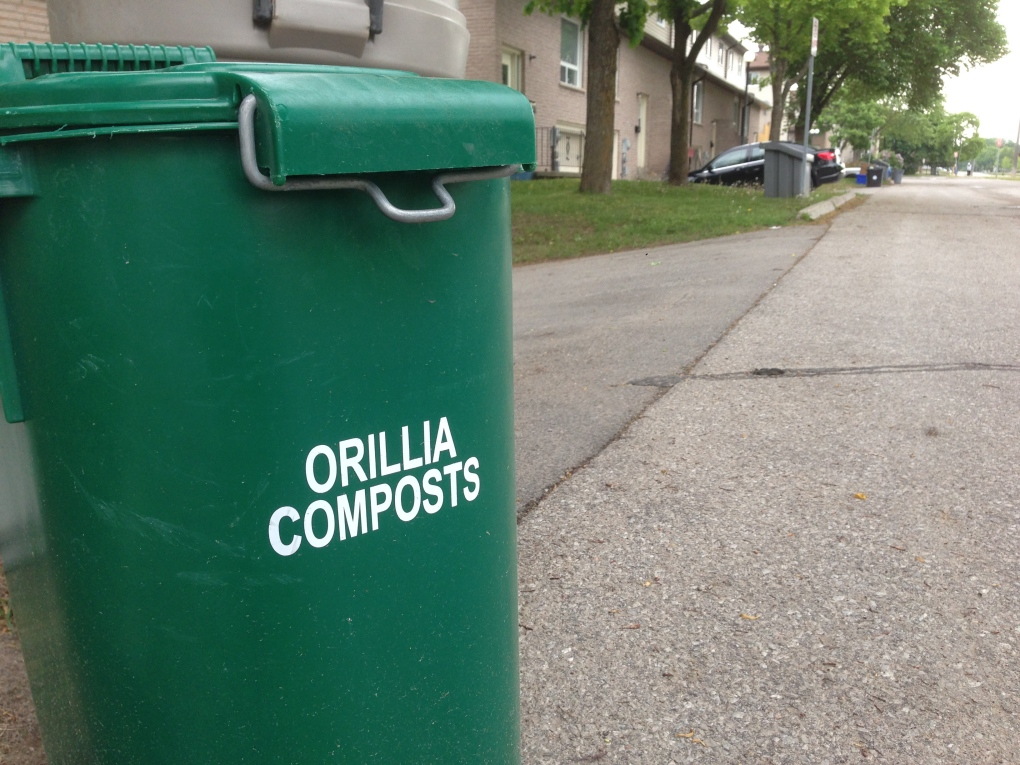 Orillia offering up free compost to residents | CTV News Barrie
