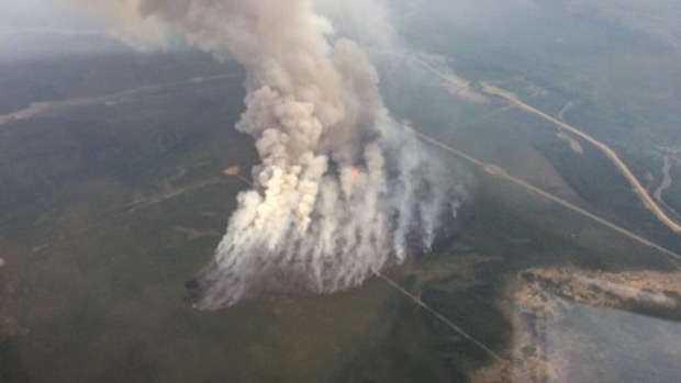 Northern Alberta wildfire