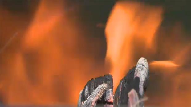 camp fire, fire