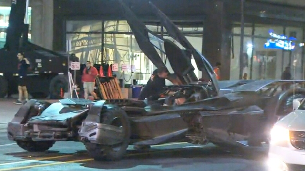 Extended: First look at 'Suicide Squad' Batmobile
