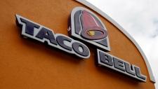 A sign at a Taco Bell in Mount Lebanon, Pa., Friday, May 23, 2014. (AP / Gene J. Puskar)
