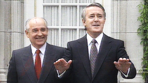 Mulroney and Gorbachev