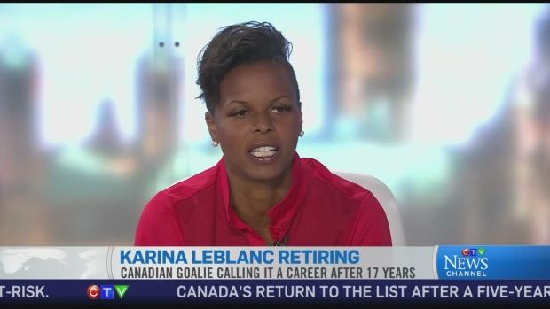 Karina leblanc dating