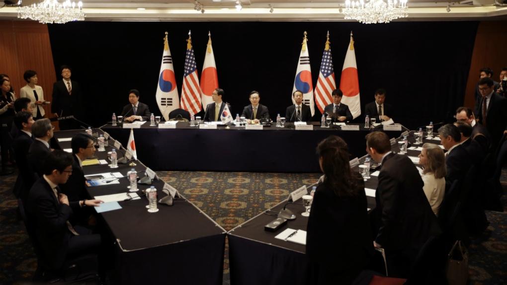 Envoys meet to discuss North Korea nukes