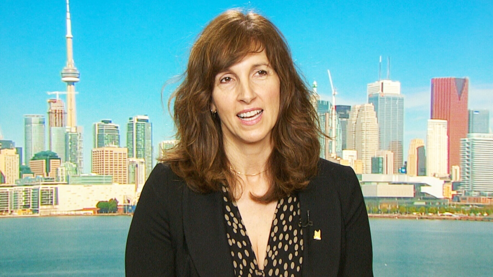 Toronto Film Sector Development Officer Michelle Alosinac appears on CTV's Canada AM on Wednesday, May 27, 2015.