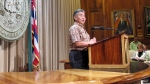 Hawaii Gov. David Ige in Honolulu on May 26, 2015. (AP / Jennifer Sinco Kelleher)