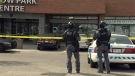 Police responded to shots fired at a business in the Willow Park area on May 27, 2015.