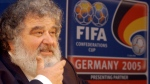 Confederation of North, Central American and Caribbean Association Football (CONCACAF) Secretary General Chuck Blazer as he attends a news conference in Frankfurt, Germany on Feb. 14, 2005. (AP / Bernd Kammerer)