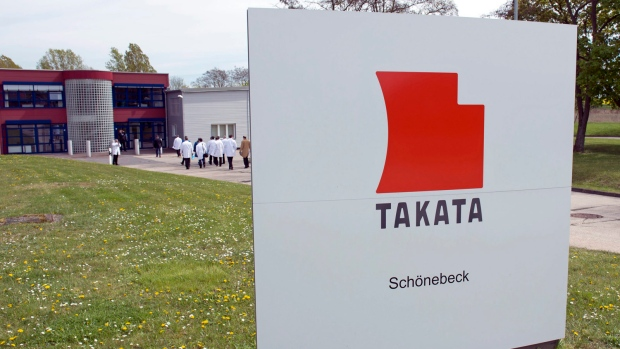 Takata offices in Schoenebeck, Germany