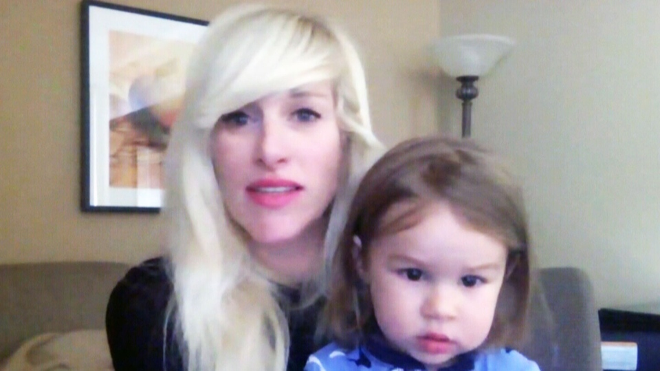 Walk Off The Earth singer Sarah Blackwood speaks to CTV News Channel, Thursday, May 28, 2015.
