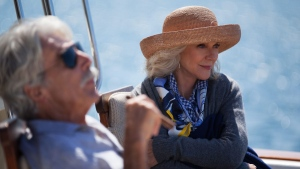 Sam Elliott, left, as Bill, and Blythe Danner, as Carol, in a scene from the film, 'I'll See You In My Dreams.' (Adam James / Bleecker Street)