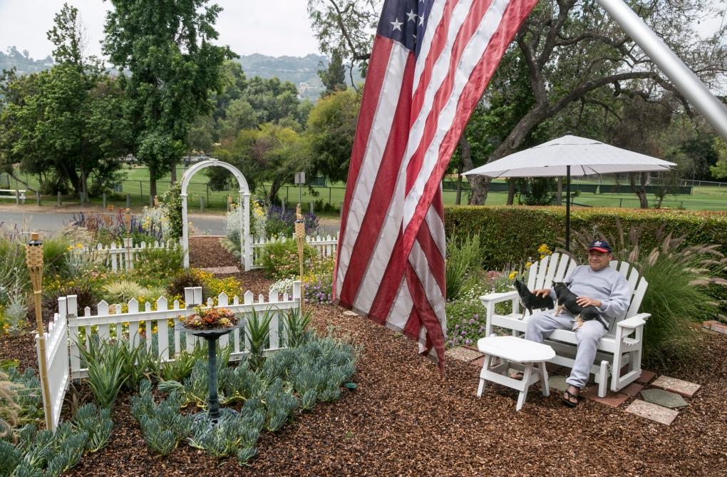 Drought resistant garden in Los Angeles