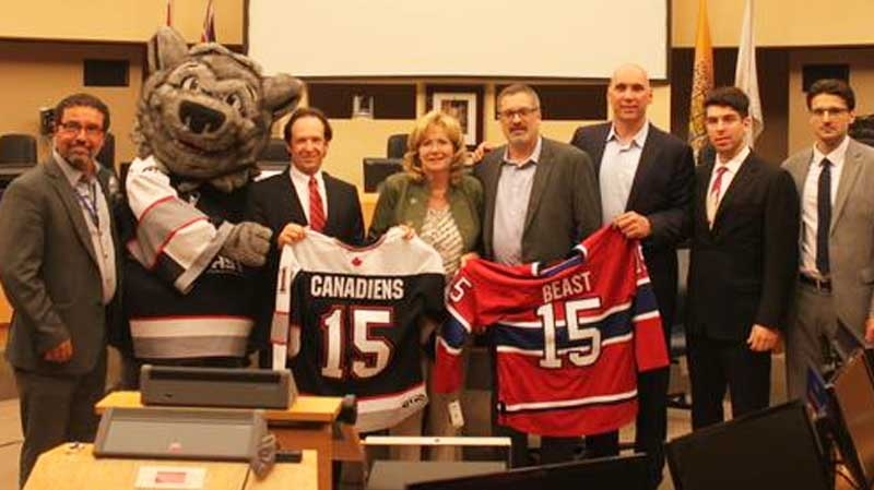 @BramptonBeast tweeted this photo at a small cerem