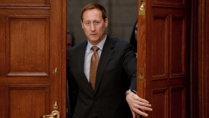 Then-justice minister Peter MacKay appears at a House committee on Parliament Hill on April 27, 2015. (Sean Kilpatrick / THE CANADIAN PRESS)