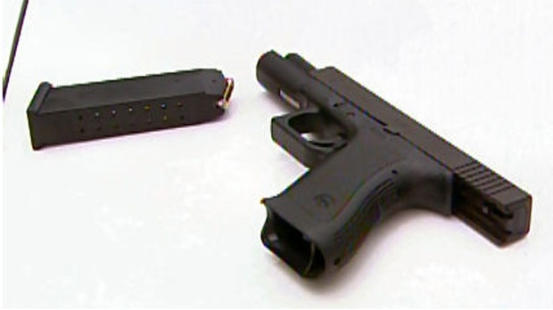 The numbers released on Friday show 61 per cent of respondents would support an outright ban on civilian possession of handguns. (File photo)