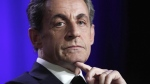 In this March 24, 2015 file photo, former French President and conservative party UMP leader Nicolas Sarkozy attends a meeting in Asnieres, outside Paris, France. (AP / Thibault Camus, File)