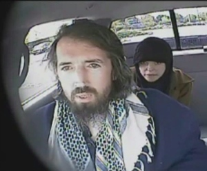 John Nuttall and Amanda Korody are shown in a still image taken from RCMP undercover video. (RCMP / THE CANADIAN PRESS)