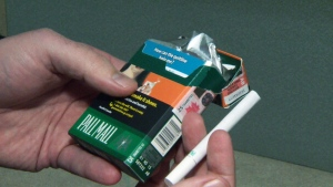 A pack of menthol cigarettes is shown in this undated file photo.