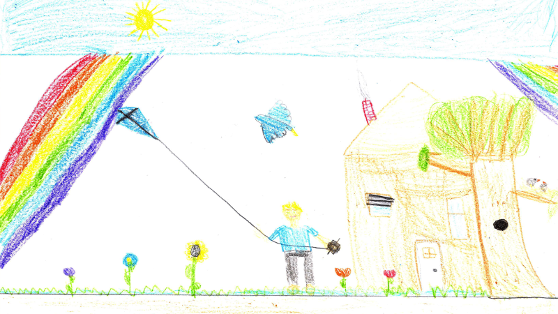 Evan S., 9 Years Old, Grade 3, St. Clare Catholic School