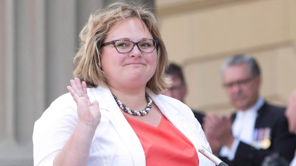 Alberta Minister of Health Sarah Hoffman