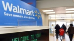 Wal-Mart is laying out a new environmental map to cut emissions and waste to landfill and to boost its use of clean and renewable energy. (File/THE ASSOCIATED PRESS)