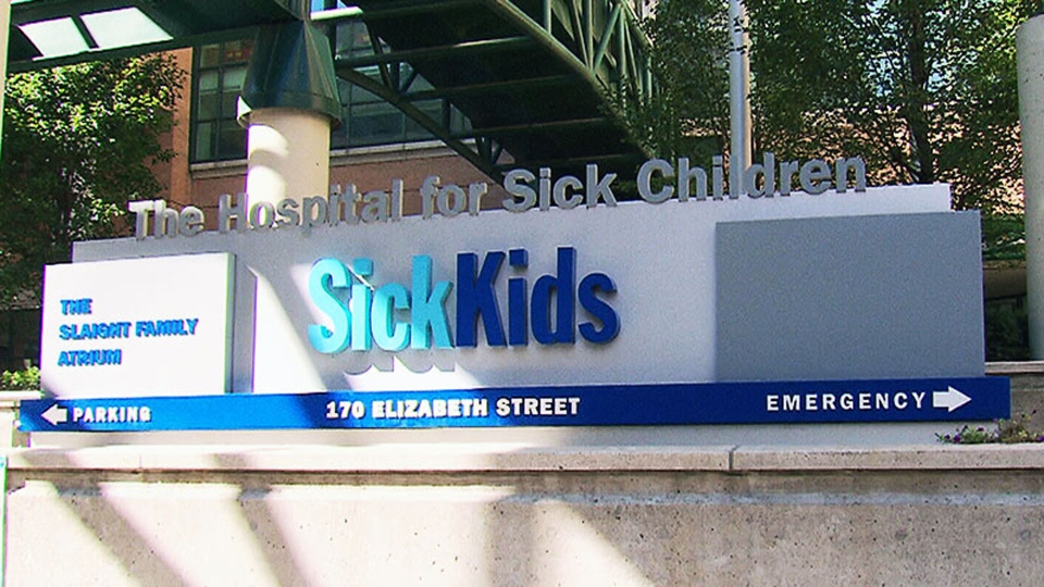 The Hospital for Sick Children is pictured in Toronto in this file image.