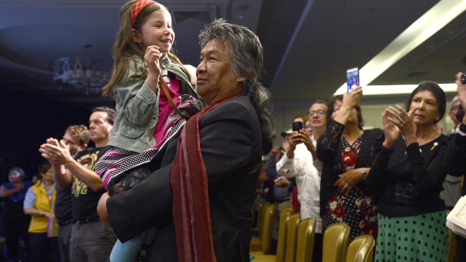 Former NWT premier at Truth and Reconciliation