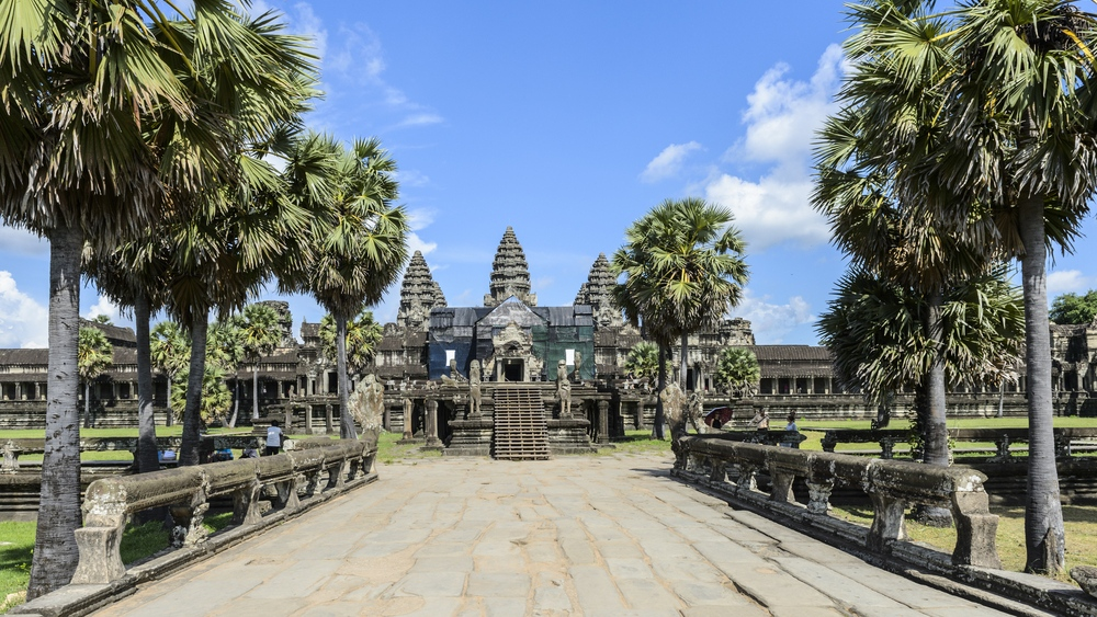 Cambodia's Angkor temple complex ending elephant rides