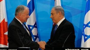 Netanyahu meets with Nicholson
