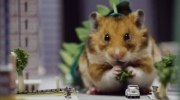 A hamster gets to act out its inner Godzilla in our Morning Smile.