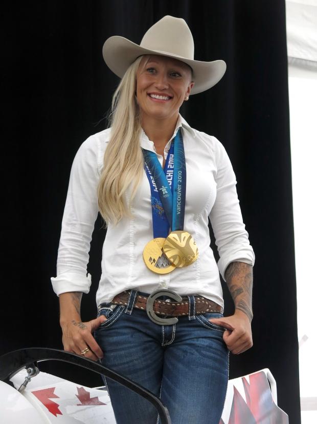 Hometown Hero Kaillie Humphries Leads Calgary Stampede