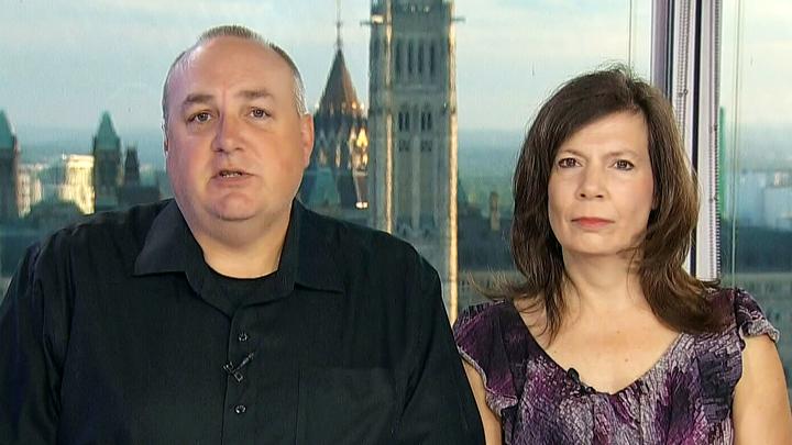 Rowan Stringer's parents, Kathleen and Gordon, speak about 'Rowan's Law' on CTV's Canada AM on Thursday, June 4, 2015.
