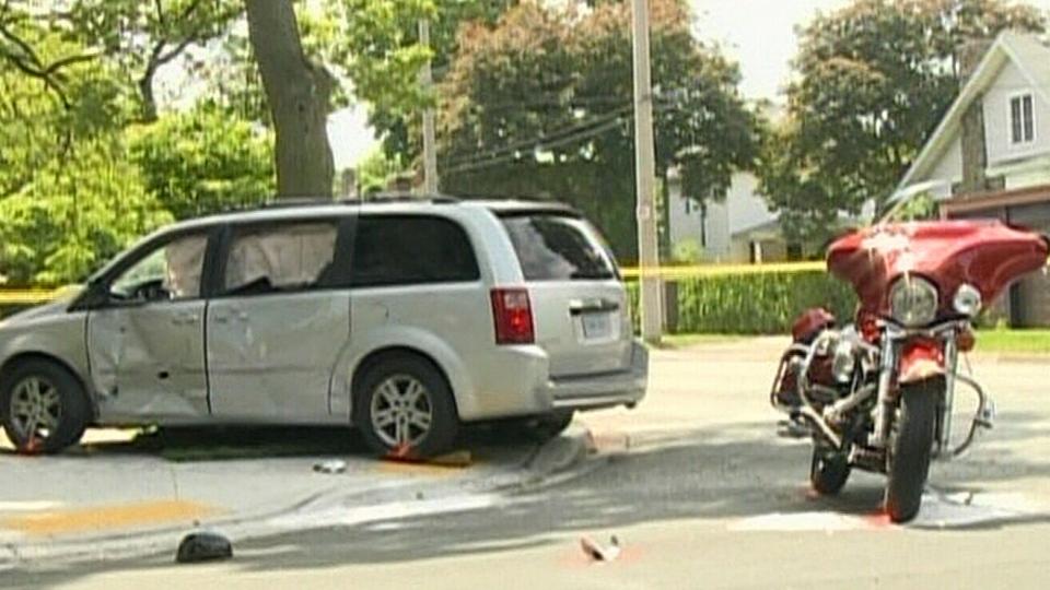 CTV Windsor: Walkerville motorcycle crash