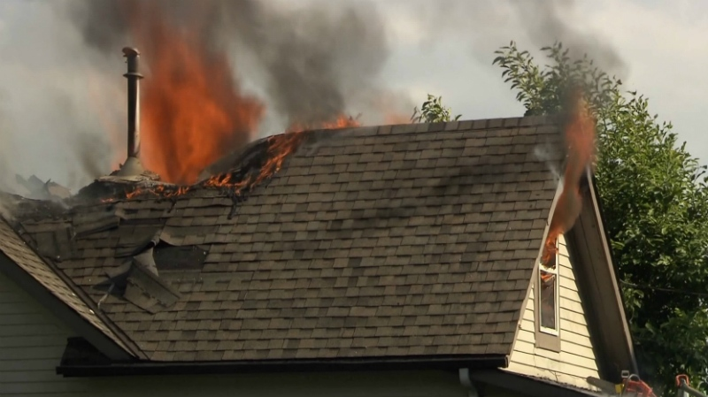 Fire Destroys Home In Maple Ridge Ctv News