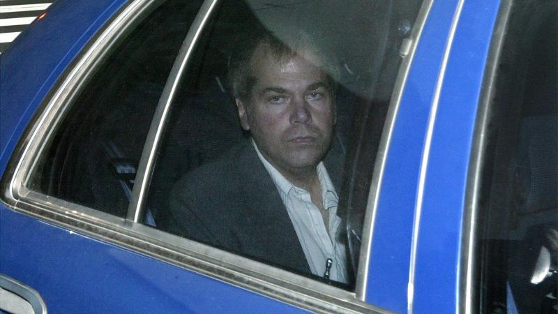 FILE - John Hinckley Jr. arrives at U.S. District Court in Washington, on Nov. 18, 2003. (AP Photo/Evan Vucci)