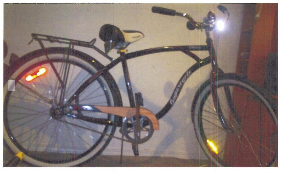 Missing woman Kandice Singbeil was last seen biking in downtown Saskatoon. Her bike is pictured here. (Saskatoon police supplied)